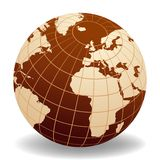 monde de globe Image libre de droits