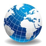 monde de globe Photos stock