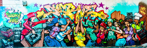 Monde de graffiti Images stock