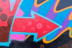 Monde de graffiti Photographie stock libre de droits