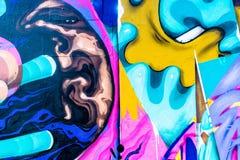 Monde de graffiti Photo libre de droits