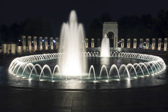 monde de guerre de nuit du mémorial II photographie stock libre de droits