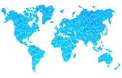 Monde de l'eau Image libre de droits