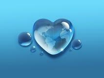 Monde de l'eau Images stock