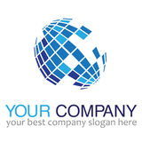 Monde de logo Images libres de droits