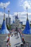 Monde de Lotte photos stock