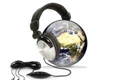 monde de musique Images stock