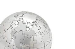 Monde de puzzle images stock