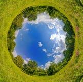 Monde de sphère Photos stock