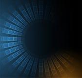 Monde de technologie numérique Concept virtuel d'affaires Backg de vecteur illustration stock