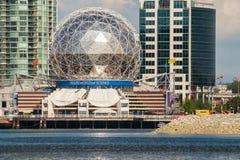 Monde de Telus du bâtiment de la Science, Vancouver Photographie stock libre de droits