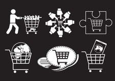 Monde de vente illustration stock