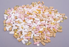 Monde de vitamine Photo libre de droits