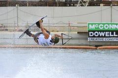 monde de wakeboard de Singapour de 2008 cuvettes Images stock