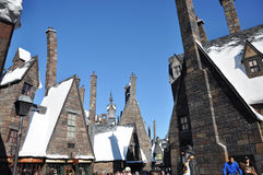 Monde de Wizarding de Harry Potter Photographie stock libre de droits
