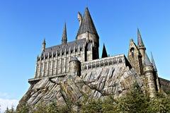 Monde de Wizarding de Harry Potter dans les studios universels Japon image stock