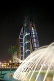 monde du commerce de centre du Bahrain Photos libres de droits