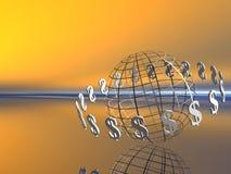 Monde du dollar. illustration libre de droits