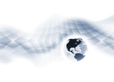 Monde dynamique Image libre de droits