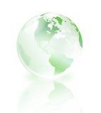 Monde en cristal Image libre de droits