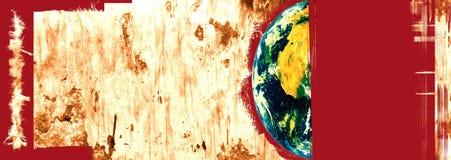 Monde en danger Images libres de droits