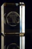 monde en verre Image stock