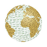 Monde et écologie Images stock