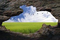 Monde extérieur Photo stock