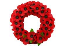 Monde Flandre de guerre de souvenir de jour de pavot un grand Images stock