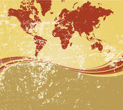 Monde grunge   Photo libre de droits