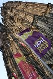 monde international de l'UNESCO de site de borne limite d'héritage célèbre de l'Allemagne de cologne de cathédrale Image libre de droits