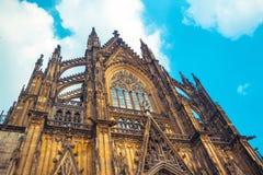 monde international de l'UNESCO de site de borne limite d'héritage célèbre de l'Allemagne de cologne de cathédrale Patrimoine mon images libres de droits