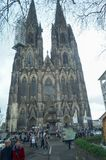 monde international de l'UNESCO de site de borne limite d'héritage célèbre de l'Allemagne de cologne de cathédrale Patrimoine mon photos libres de droits
