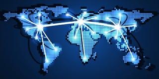 monde large de Web Photos libres de droits