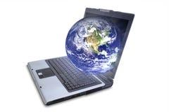 monde large de Web Image stock