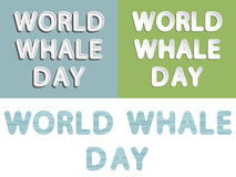 Monde Marine Mammal Protection Day Photos stock