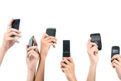 Monde mobile Photographie stock libre de droits