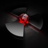 Monde nucléaire - l'Europe Photographie stock
