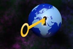 Monde principal d'ouverture illustration de vecteur
