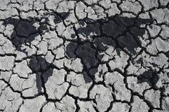 Monde sur le désert Image stock