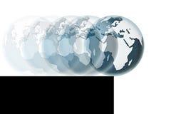 Monde sur le précipice - image de concept photo libre de droits