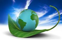 Monde vert Photographie stock libre de droits