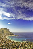 Mondello (vertical view) Stock Photography