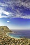 Mondello (vertical view) Stock Photography