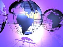 Mondes Image libre de droits