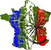 Mondes la plupart de course célèbre de cycle dans les Frances Photos libres de droits