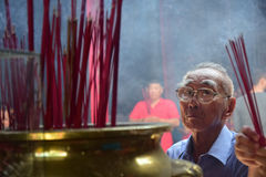 Mondfeier Semarang des neuen Jahres 2567 Lizenzfreies Stockbild
