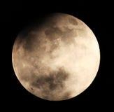 Mondfinsternis für einen Hintergrund 25.04.13. Stockbild