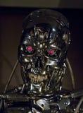Mondi infiniti della mostra della fantascienza: Terminatore 2 fotografia stock libera da diritti