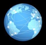 Mondiaal Internet net stock illustratie